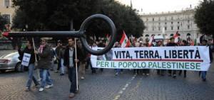 MO: CORTEO A ROMA PRO PALESTINA